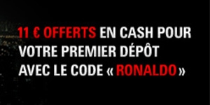 PokerStars - 11 € offerts en cash