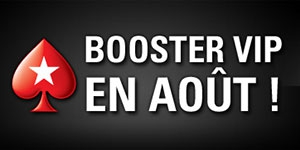 Booster vip sur PokerStars.fr