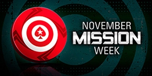 PokerStars - November Mission Week