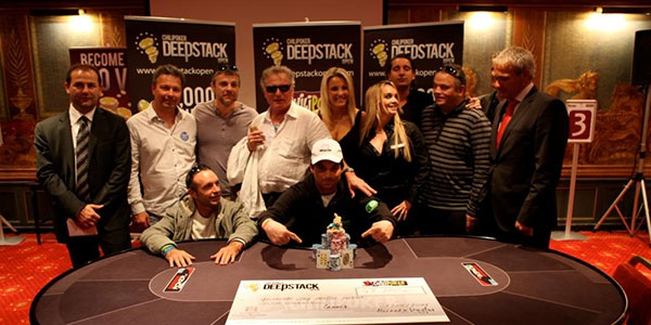 Luca Colangelo remporte le Chilipoker DeepStack Open Cannes