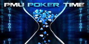 PMU Poker Time Freeroll 5.000 euros garantis