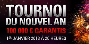 Tournoi du Nouvel An - PokerStars