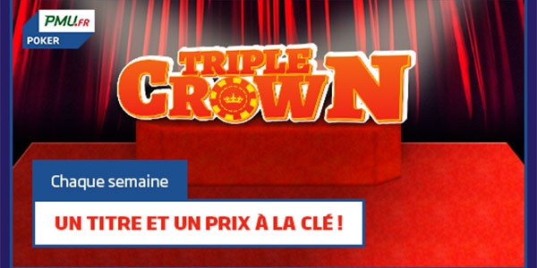 La Triple Crown by PMU Poker