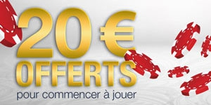 20 euros gratuits sur Everest Poker
